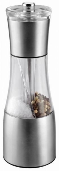 "Metmaxx® Salz- & Pfeffermühle ""OrganicDuo"" silber"
