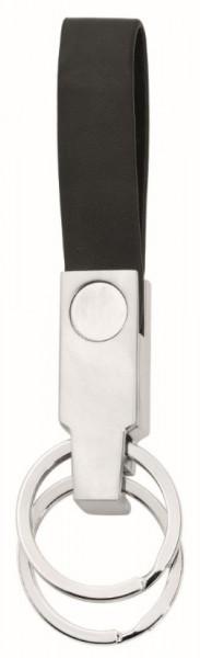 "Metmaxx® Schlüsselanhänger ""Loop@Mobile"" silber"