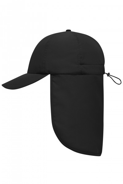 6 Panel Cap with Neck Guard