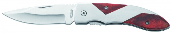 "Metmaxx® Outdoormesser ""CrossWood"" silber"